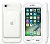 iPhone 7 / 8 Orjinal Smart Battery Bataryalı Beyaz Kılıf - Resim 1