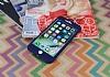 iPhone 7 Plus / 8 Plus Koruma Likit Lacivert Silikon Kılıf - Resim 2