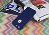 iPhone 7 Plus / 8 Plus Koruma Likit Lacivert Silikon Kılıf - Resim 1