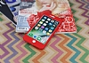 iPhone 7 Plus Koruma Likit Kırmızı Silikon Kılıf - Resim 2