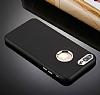 iPhone 7 Plus Kamera Korumalı Siyah Silikon Kılıf - Resim 2