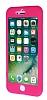 iPhone 7 Plus Koruma Likit Pembe Silikon Kılıf - Resim 3
