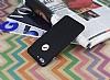 iPhone 7 Plus Metal Tuşlu Mat Siyah Silikon Kılıf - Resim 2