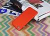 iPhone 7 Plus / 8 Plus Metal Tuşlu Mat Kırmızı Silikon Kılıf - Resim 2