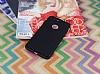 iPhone 7 Plus Metal Tuşlu Mat Siyah Silikon Kılıf - Resim 1