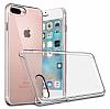 iPhone 7 Plus / 8 Plus Şeffaf Kristal Kılıf - Resim 2