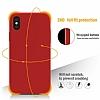 iPhone X Kadife Dokulu Kahverengi Silikon Kılıf - Resim 2