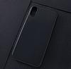 iPhone X Mat Lacivert Silikon Kılıf - Resim 1