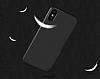 iPhone X Mat Lacivert Silikon Kılıf - Resim 3