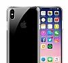 iPhone X Ultra İnce Şeffaf Silikon Kılıf - Resim 1
