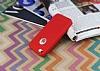 iPhone SE / 5 / 5S 360 Derece Koruma Likit Kırmızı Silikon Kılıf - Resim 2