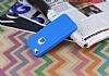 iPhone SE / 5 / 5S 360 Derece Koruma Likit Mavi Silikon Kılıf - Resim 2