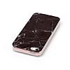 iPhone SE / 5 / 5S Granit Görünümlü Siyah Silikon Kılıf - Resim 2