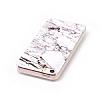 iPhone SE / 5 / 5S Granit Görünümlü Beyaz Silikon Kılıf - Resim 1