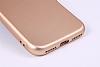 iPhone SE / 5 / 5S Metal Kamera Korumalı Kırmızı Silikon Kılıf - Resim 4