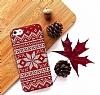 iPhone SE / 5 / 5S Sweater Snow Kırmızı Kılıf - Resim 1