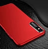 Dafoni Shade iPhone X / XS Kamera Korumalı Kırmızı Rubber Kılıf - Resim 2