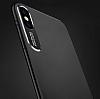 Dafoni Shade iPhone X Kamera Korumalı Siyah Rubber Kılıf - Resim 2