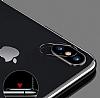 iPhone X Siyah Kamera Lensi Koruyucu - Resim 3