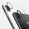 iPhone X Kamera Lensi Koruyucu + Toz Önleyici + Kablo Tutucu - Resim 1