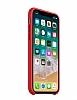 iPhone X Orjinal (PRODUCT) RED Silikon Kılıf - Resim 2