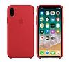 iPhone X Orjinal (PRODUCT) RED Silikon Kılıf - Resim 1