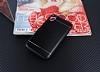 iPhone X Silikon Kenarlı Metal Siyah Kılıf - Resim 2