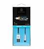 ITFIT USB Type-C Beyaz Data Kablosu 1m - Resim 1