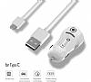 ivon USB Type-C Kablolu Araç Şarj Aleti - Resim 4