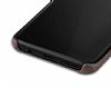 Jasean Samsung Galaxy S8 Deri Kahverengi Rubber Kılıf - Resim 3