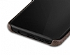 Jasean Samsung Galaxy S8 Plus Deri Kahverengi Rubber Kılıf - Resim 2