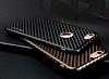 JLW iPhone 6 / 6S Karbon Siyah Rubber Kılıf - Resim 4