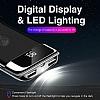 Joyroom 10000 mAh Çift USB Girişli Beyaz Kablosuz Powerbank Yedek Batarya - Resim 5