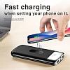 Joyroom 10000 mAh Çift USB Girişli Beyaz Kablosuz Powerbank Yedek Batarya - Resim 4