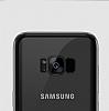 Joyroom Baikal Samsung Galaxy S8 Gold Kenarlı Silikon Kılıf - Resim 2