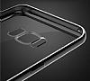 Joyroom Baikal Samsung Galaxy S8 Gold Kenarlı Silikon Kılıf - Resim 3