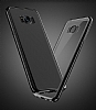 Joyroom Baikal Samsung Galaxy S8 Gold Kenarlı Silikon Kılıf - Resim 4