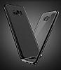 Joyroom Baikal Samsung Galaxy S8 Plus Gold Kenarlı Silikon Kılıf - Resim 4