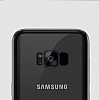 Joyroom Baikal Samsung Galaxy S8 Plus Gold Kenarlı Silikon Kılıf - Resim 2