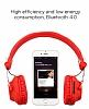 Joyroom BT149 Kırmızı Bluetooth Kulaklık - Resim 4