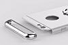 Joyroom iPhone 6 / 6S Selfie Yüzüklü Metal Gold Rubber Kılıf - Resim 2