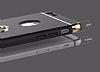 Joyroom iPhone 6 / 6S Selfie Yüzüklü Metal Gold Rubber Kılıf - Resim 3