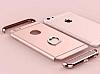 Joyroom iPhone 6 / 6S Selfie Yüzüklü Metal Gold Rubber Kılıf - Resim 8