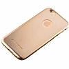 Joyroom iPhone 6 / 6S Ultra Fit Gold Silikon Kılıf - Resim: 2