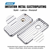 Joyroom Traveler iPhone 6 / 6S Metalik Silver Silikon K�l�f - Resim: 4
