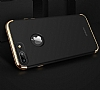 Joyroom iPhone 7 Plus 3 in 1 Rose Gold Rubber Kılıf - Resim: 1
