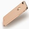 Joyroom iPhone 7 Plus 3 in 1 Rose Gold Rubber Kılıf - Resim: 5