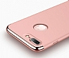 Joyroom iPhone 7 Plus 3 in 1 Rose Gold Rubber Kılıf - Resim: 4