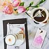 Joyroom iPhone 7 Plus / 8 Plus Kız Taşlı Pembe Silikon Kılıf - Resim 1