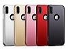 Joyroom iPhone X 360 Derece Koruma Gold Rubber Kılıf - Resim 7